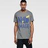 G-Star RAW® Hecker Round Neck T-Shirt Grey