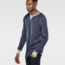 G-Star RAW® Matmini Sweat Medium blue model side