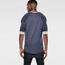 G-Star RAW® Matmini Sweat Medium blue model back