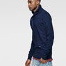 G-Star RAW® Omaros Aero Sweat Dark blue model side