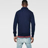 G-Star RAW® Omaros Aero Sweat Dark blue model back