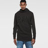 G-Star RAW® Ryon Hooded Knit Black model front