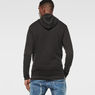 G-Star RAW® Ryon Hooded Knit Black model back