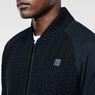 G-Star RAW® Kryv Vest Knit Black flat front