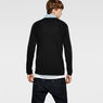 G-Star RAW® Meeflic Round Knit Black model back