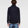 G-Star RAW® Gammit Shawl Collar Knit Dark blue model back