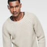 G-Star RAW® Ave Round Neck Knit Grey