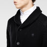 G-Star RAW® Tildo Cardigan Black flat front