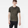 G-Star RAW® Base T-Shirt 2-Pack Green model front