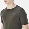 G-Star RAW® Base T-Shirt 2-Pack Green flat front