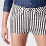 G-Star RAW® Arc Tuka Striped Shorts White front flat
