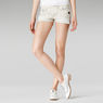 G-Star RAW® Mini Shorts White front flat