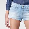 G-Star RAW® 3301 Ripped Shorts Light blue front