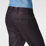 G-Star RAW® Bronson Low Waist Boyfriend Chino Dark blue model back zoom