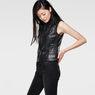 G-Star RAW® 5620 Custom Zip Leather Jacket Black model side