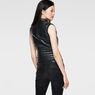 G-Star RAW® 5620 Custom Zip Leather Jacket Black model back