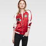 G-Star RAW® Arc 3D Tuka Embro Bomber Red model front