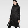 G-Star RAW® Florence Slim Trench Black model front