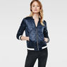 G-Star RAW® Bomber Quilted Jacket Dark blue model front