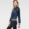 G-Star RAW® Bomber Quilted Jacket Dark blue model side