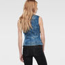 G-Star RAW® Mdg  Jacket Medium blue model back
