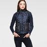 G-Star RAW® A Crotch Sleeveless Jacket Dark blue model front