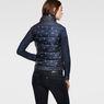 G-Star RAW® A Crotch Sleeveless Jacket Dark blue model back