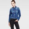 G-Star RAW® New Slm Tai Jacket Medium blue model front