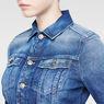 G-Star RAW® New Slm Tai Jacket Medium blue flat front