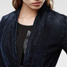 G-Star RAW® Lynn Zip Blazer Dark blue flat front