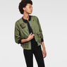 G-Star RAW® Upton Cropped Lightweight Jacket Green model side