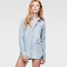G-Star RAW® Lancer Splatter Boyfriend Shirt Light blue
