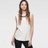 G-Star RAW® Elen Sleeveless T-Shirt White