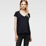 G-Star RAW® Loron Cap-Sleeves T-Shirt Dark blue