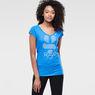 G-Star RAW® Loreen V-Neck T-Shirt Light blue