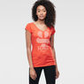 G-Star RAW® Loreen V-Neck T-Shirt Red