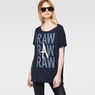 G-Star RAW® Keshaw T-Shirt Dark blue