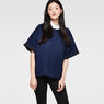 G-Star RAW® Dendar Round Neck Sweat Dark blue model front