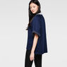 G-Star RAW® Dendar Round Neck Sweat Dark blue model side