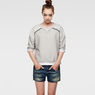 G-Star RAW® Keshan Sweat Grey model front
