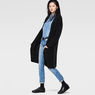 G-Star RAW® Hele Long Cardigan Knit Black model side