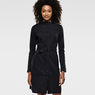 G-Star RAW® Flor Trench Dress Black