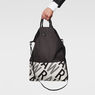G-Star RAW® Betta Canvas Shopper Black front flat
