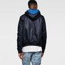 G-Star RAW® RAW for the Oceans - Hooded Bomber Dark blue model back