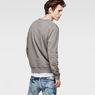 G-Star RAW® RAW For The Oceans - Round Neck Sweat Grey model back