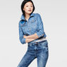 G-Star RAW® Raw For The Oceans -Tailor Cropped Jacket Light blue model front