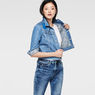 G-Star RAW® Raw For The Oceans -Tailor Cropped Jacket Light blue model side
