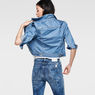 G-Star RAW® Raw For The Oceans -Tailor Cropped Jacket Light blue model back