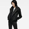 G-Star RAW® Minor Cropped Trench Black model front