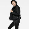 G-Star RAW® Minor Cropped Trench Black model side